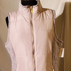 New  Style & Co Puffer Vest Size L